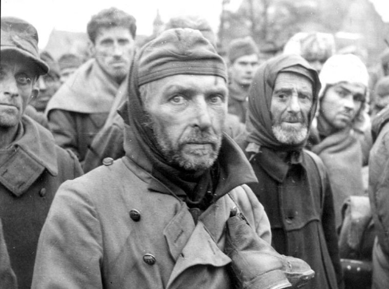 German prisoners.....