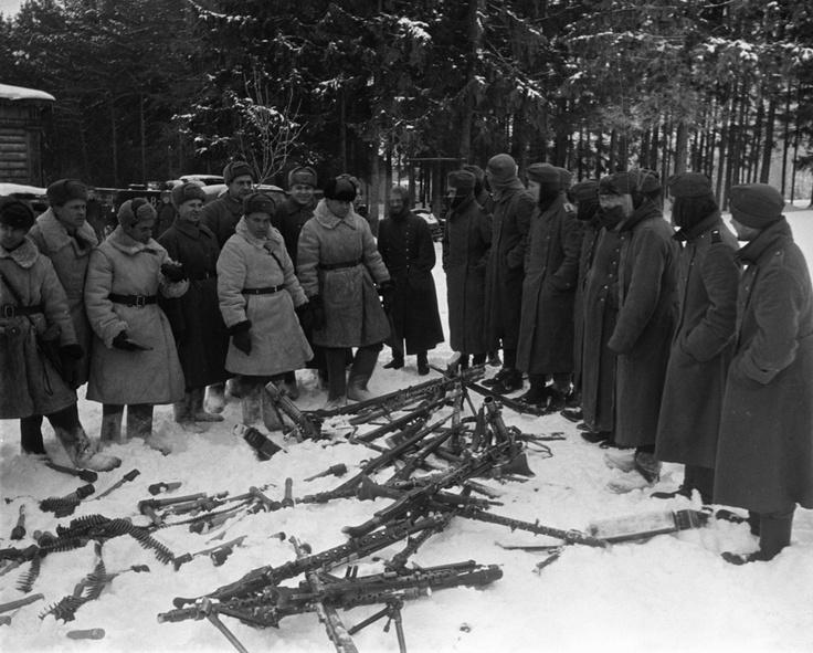 Nazis surrendering