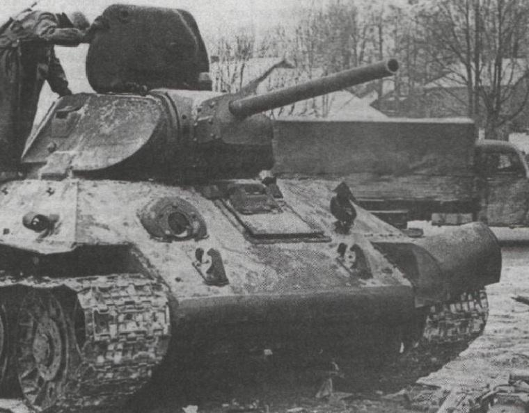 Танк Т-34 образца 1941