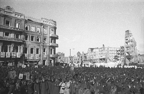 Liberators of Stalingrad.