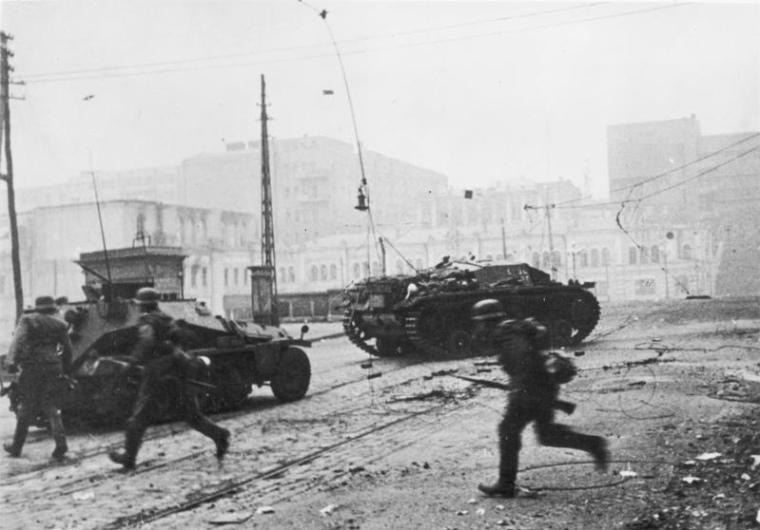 StuG III Ausf B in Kharkov