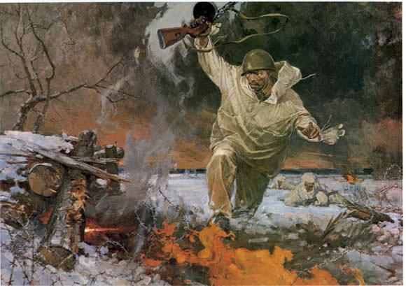 Подвиг младшего лейтенанта Николая Шевлякова