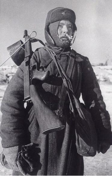 1943. Январь. Сталинград .Защитник города.