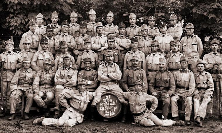 Солдаты 28-го (чешского) пехотного полка