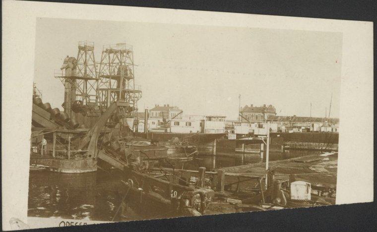 Последствия Брестского мира: Одесса после оккупации австро-венгерскими войсками. Дноуглубительные работы в Одесском порту
