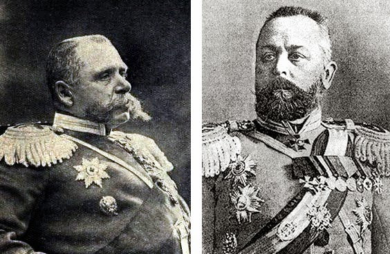Павел Карлович Ренненкампф  Александр Васильевич Самсонов