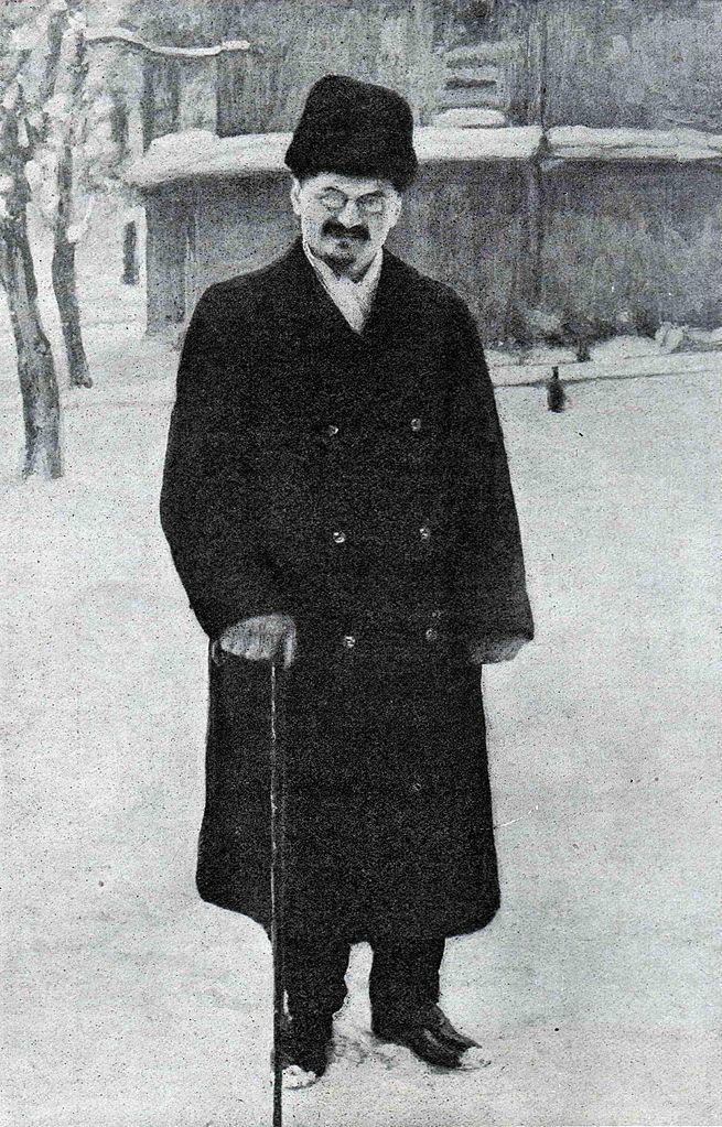Л.Троцкий в Брест-Литовске