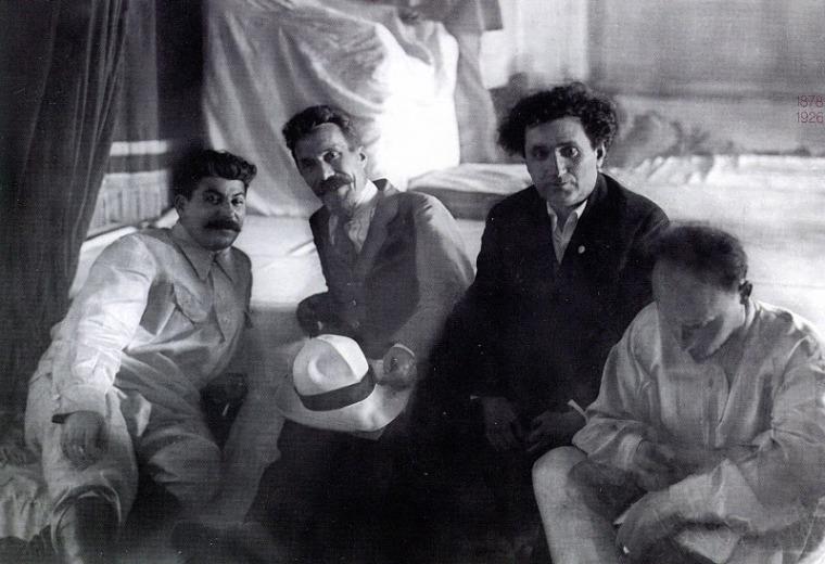 Сталин, Рыков, Зиновьев и Бухарин... 1924 год