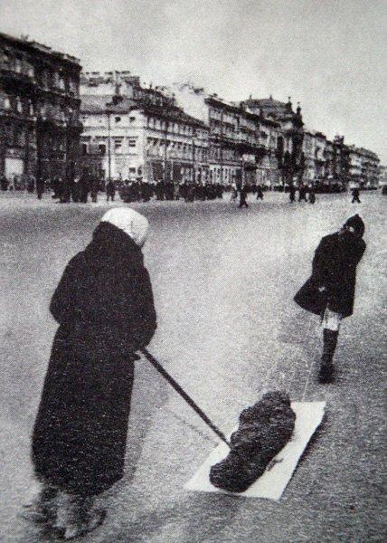 Проводы в последний путь, 1942 год
